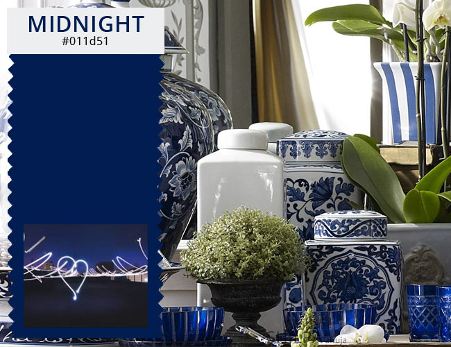 dark winter colors blue shades dinnerware MIDNIGHT-BLUE