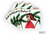 designer tea coasters set online cartoon audrey o comics