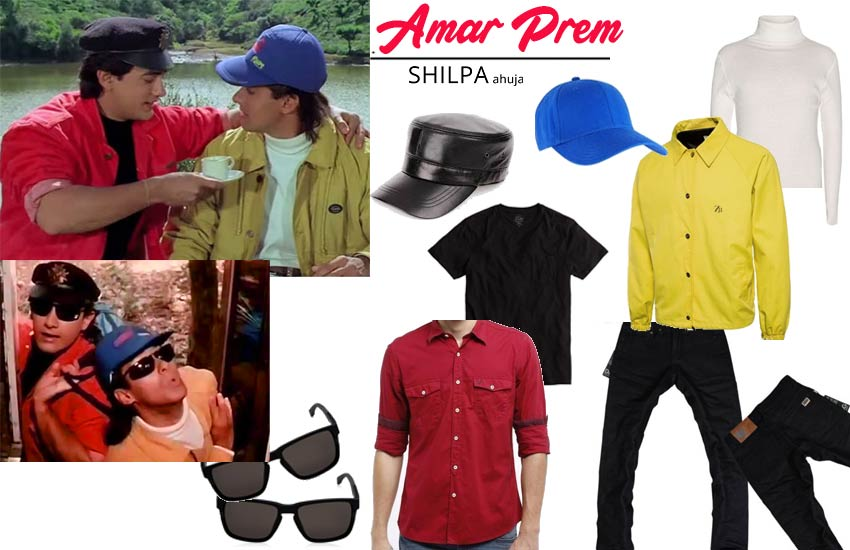 easy fancy dress competition theme bollywood amar-prem