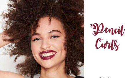 how to make pencil curls tutorials for natural hair-1