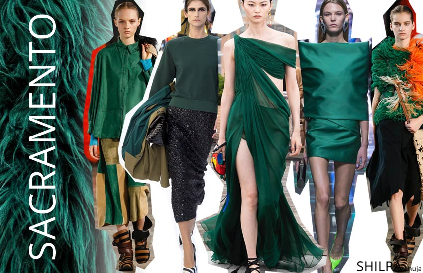new fashion colors style wardrobe spring 2019 Sacramento-Green