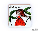 order tea coasters online art cartoon audrey o comics manufacturer