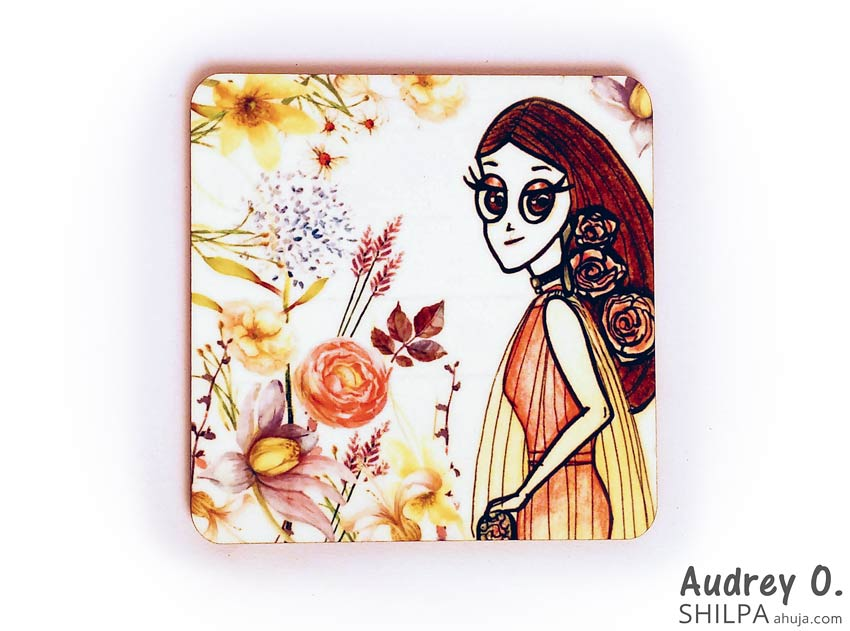 order tea coasters online cartoon audrey o comics