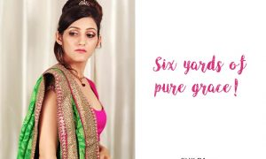 saree caption for instagram indian quotes