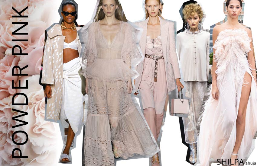 spring summer 2019 ss19 fashion colors Powder-Pink