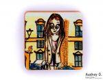 tea coasters online art cartoon audrey o comics -