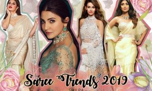 top latest saree-trends-2019-designer sari designs best