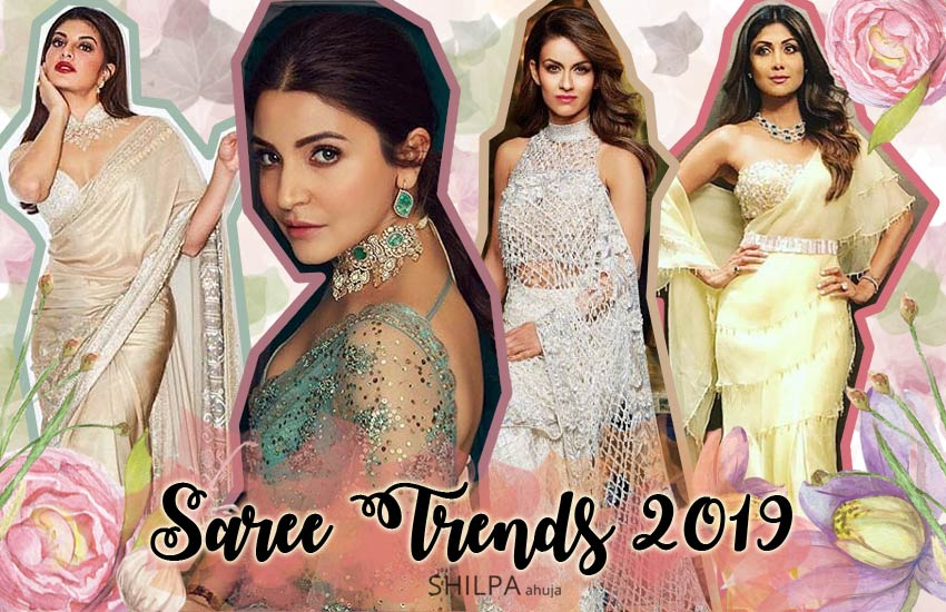 fashion saree trends top latest-2019-designer sari designs best