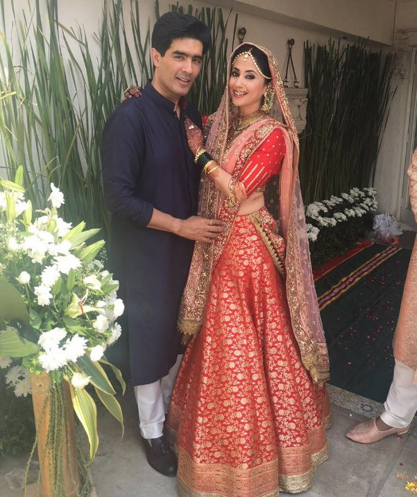 top wedding dresses lehengas bollywood urmila matondkar manish malhotra