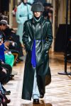 Raf Simons Menswear Street Style Trends Fall Winter 2019 Leather CoatRaf Simons Menswear Street Style Trends Fall Winter 2019 Leather Coat