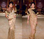 Shyamal Bhumika Latest Saree Designs 2019 Belt Draping Style