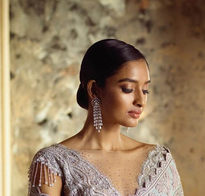 Tarun Tahiliani Best Designer Saree Blouse Trends 2019 Sheer Panel