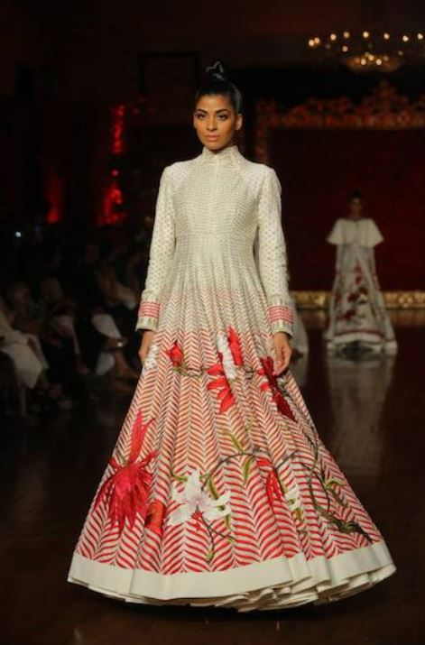 anarkali-gown rohit bal different types of indian gowns