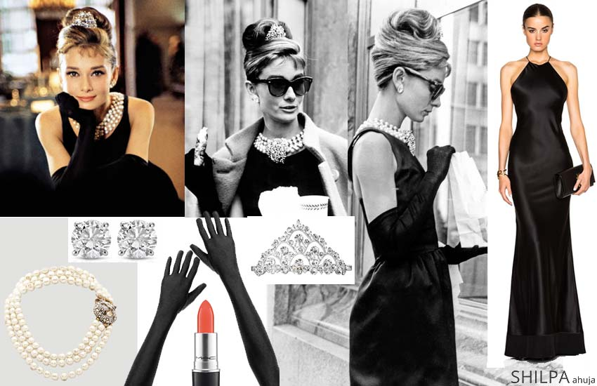 breakfast at tiffanys audrey hepburn easy hollywood costumes
