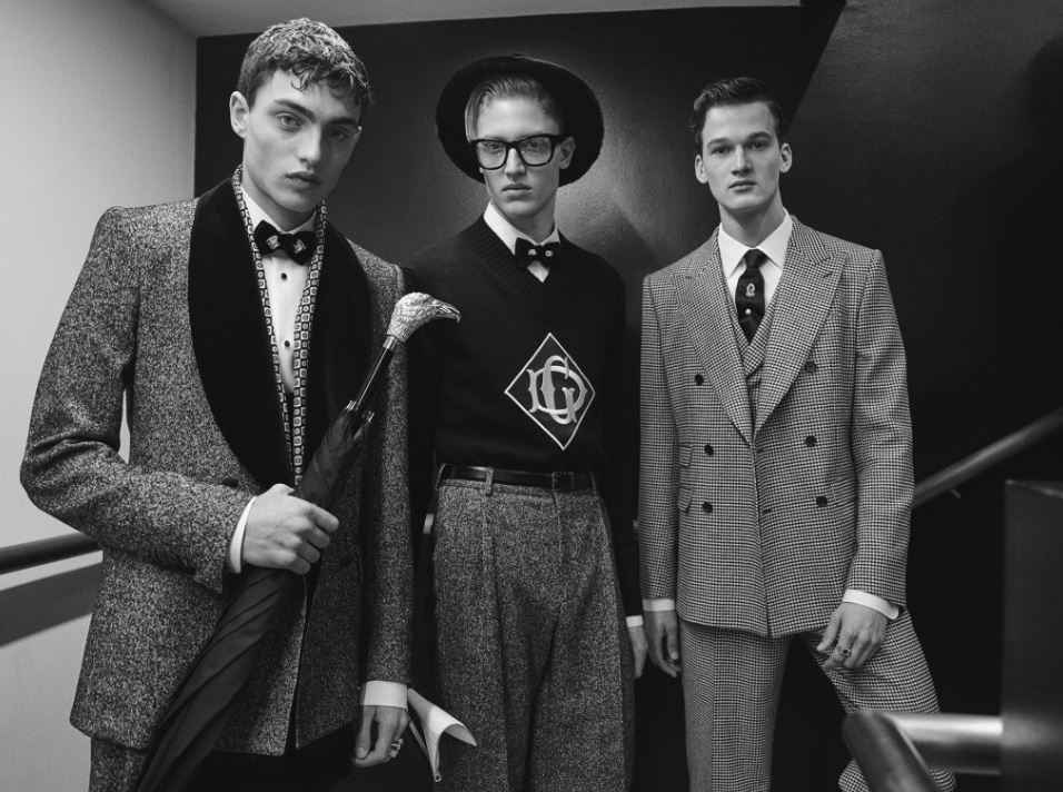 menswear fashion trends dolce and gabbana fall 2019 mens fashion style latest