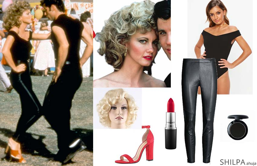 hollywood themed costume ideas sexy iconic grease