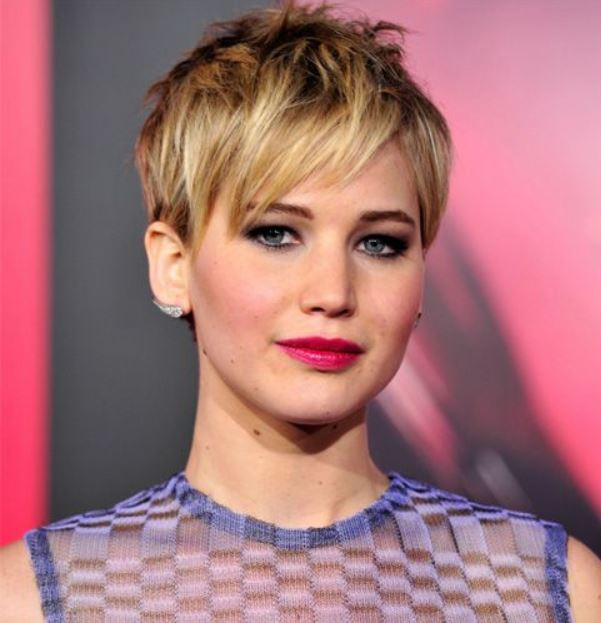 jennifer lawrence pixie short hairstyles for women celeb haircut female-hair