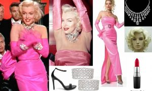 marilyn monroe -diamonds what to wear to hollywood themed party female