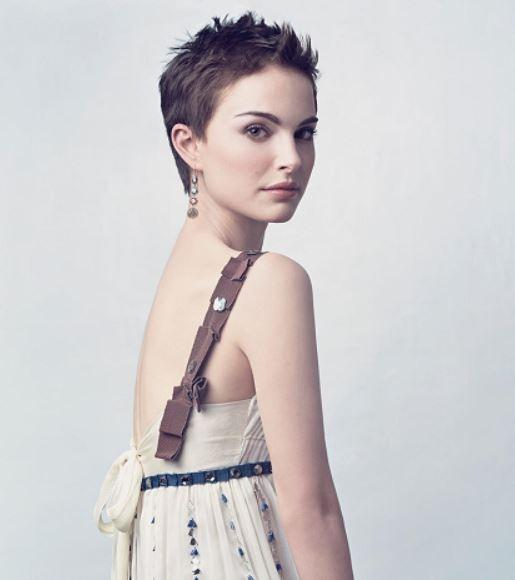natalie portman crew cut short hairstyles for women celeb haircut
