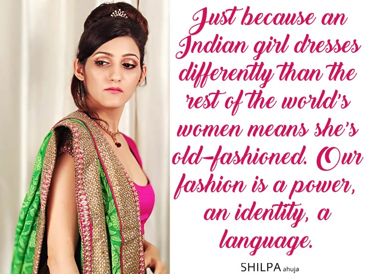 f2db486b0e There's a reason wearing Indian fashion makes every woman so proud.  Colourful, intricate, perfectly draped and uniquely fitted, it's the  perfect ...