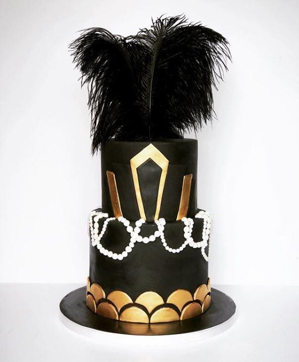 Birthday Cake Trends 2019 Black Sexy Idea luluscakekitchen