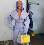 Cardi B Ice Blue Top Celebrity Hair Color Trends 2019