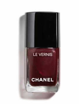 Chanel-Dark Spice-Deep Wine-Top Trending Nail Colors 2019