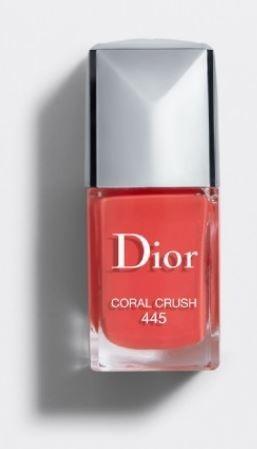 Dior-Coral-2019 Top Nail Colors Popular