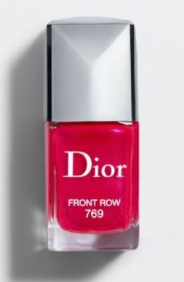 Dior-Deep Fuschia-Spring Summer 2019 Nail Colors
