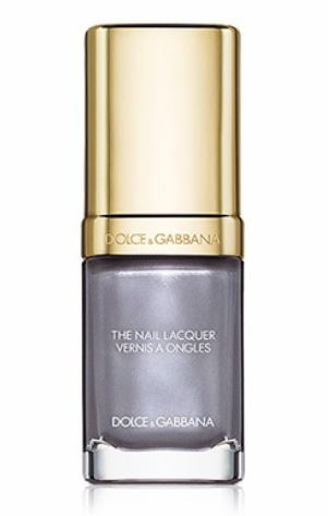 Dolce Gabbana-Cloudy Grey Winter 2019 Nail Colors