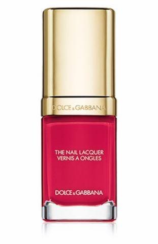 Dolce Gabbana-Deep Fuschia Pink-Spring Summer 2019 Nail Colors