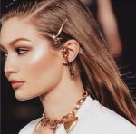 Gigi Hadid Cool Chestnut Brown Hair Color Trends 2019