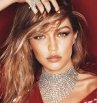 Gigi Hadid Cool Chestnut Brown Hair Highlights 2019