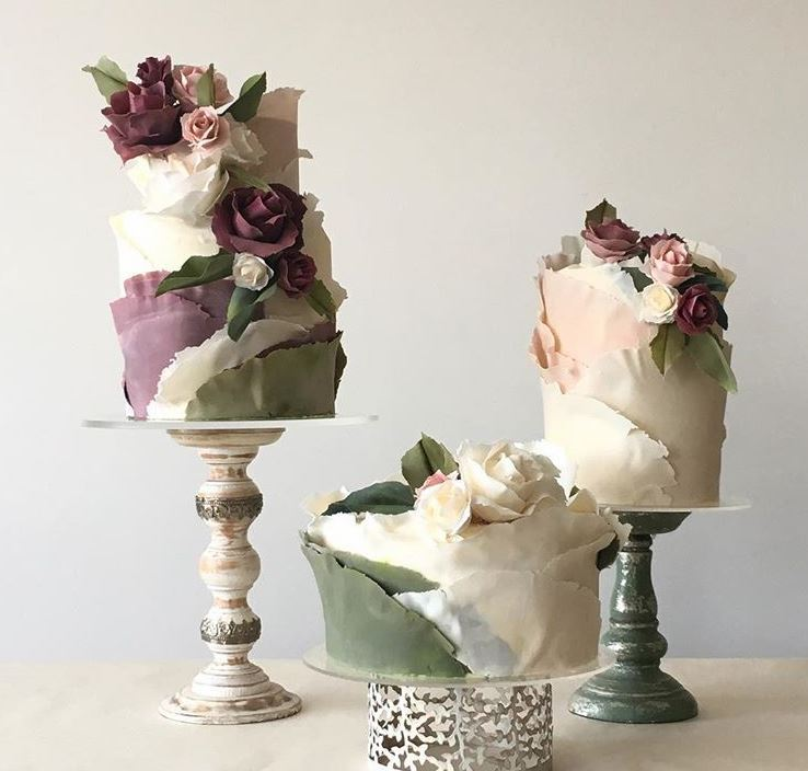 Latest Birthday Cakes 2019 Edible Fondant Flowers 1 jasmineraecakes