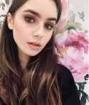 Lily Collins Babylights Hair Highlights Color Trends 2019