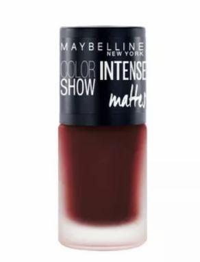 Maybelline-Dark Spice-Deep Wine-Top Trending Nail Colors 2019