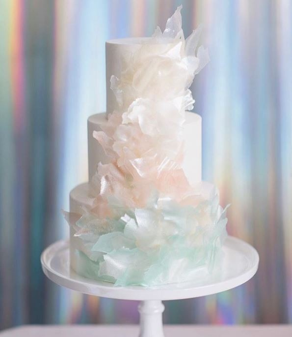 New Birthday Cakes 2019 Iridescent lafetefloral