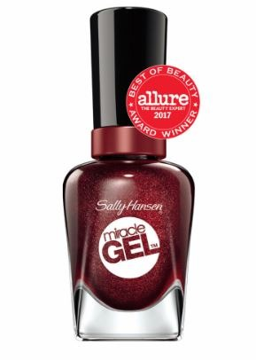 Sally Hansen-Dark Spice-Deep Wine-Top Trending Nail Colors 2019