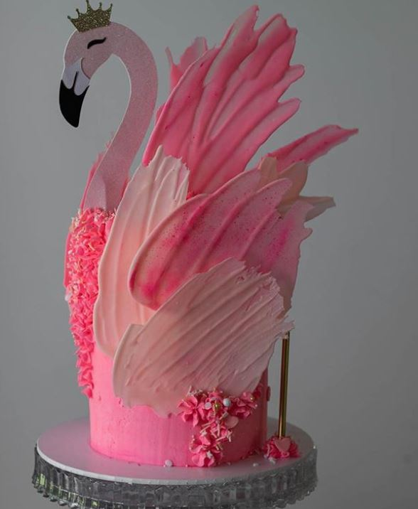 Top Birthday Cake Trends 2019 for girls Brush Strokes torte_by_mirjana