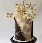 Trendy Birthday Cake Designs 2019 Textured alittlesweeter_bylaura