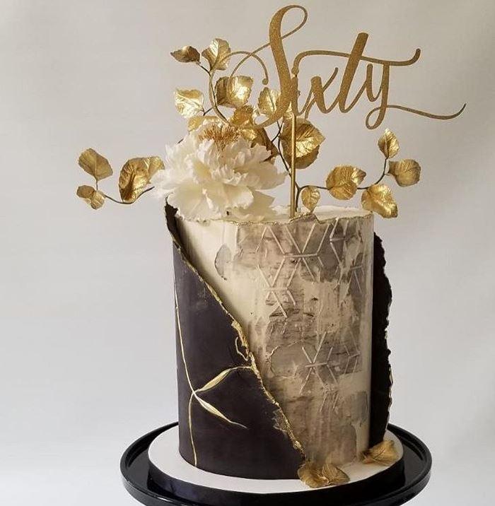 Trendy Birthday Cake Designs 2019 Textured alittlesweeter_bylaura