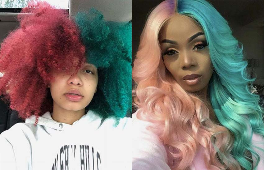 half-hair-color-trends-2019-top-best-trendy-stylish-unique