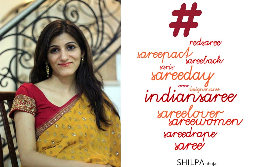 popular-best-saree-hashtags-for-instagram pics insta photo