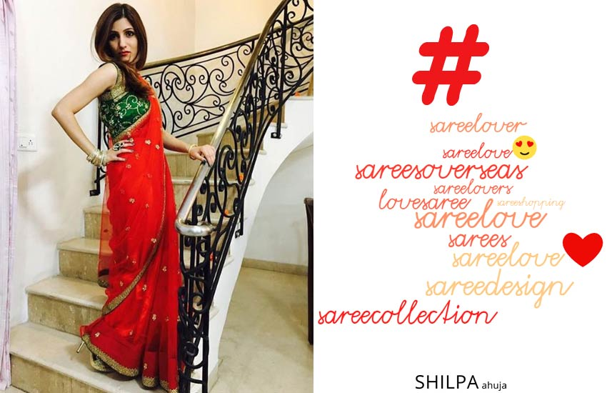 tags to use free likes sari Saree Love Hashtags for Instagram