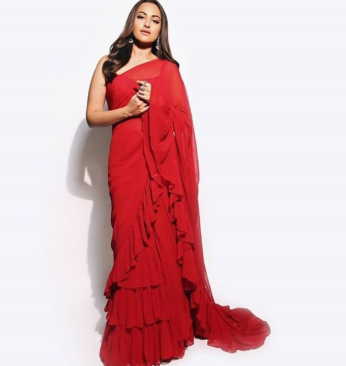 Arpita Mehta Latest Saree Color Trends 2019 Sonakshi Sinha