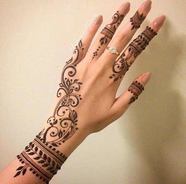Latest Mehendi Designs Beautiful Trends for Girls (18)