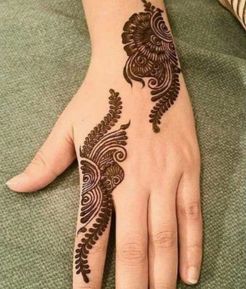 Latest Mehendi Designs Beautiful Trends for Girls (21)