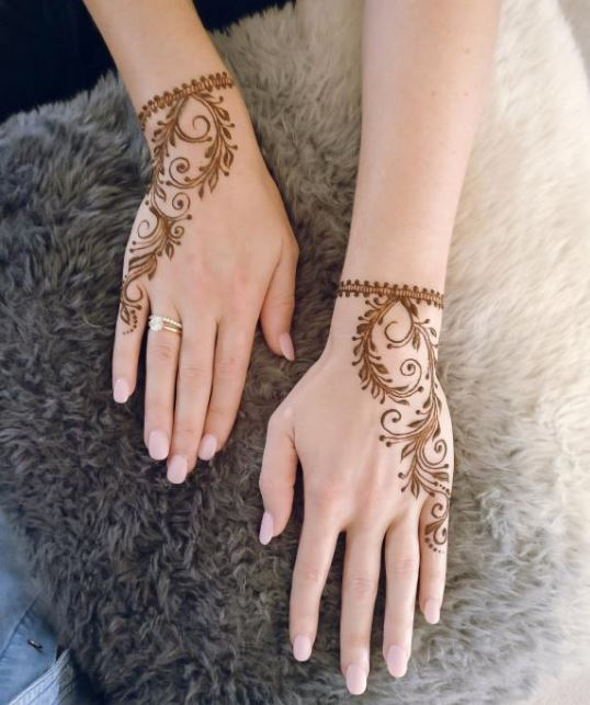 Latest Mehendi Designs Beautiful Trends for Girls (22)