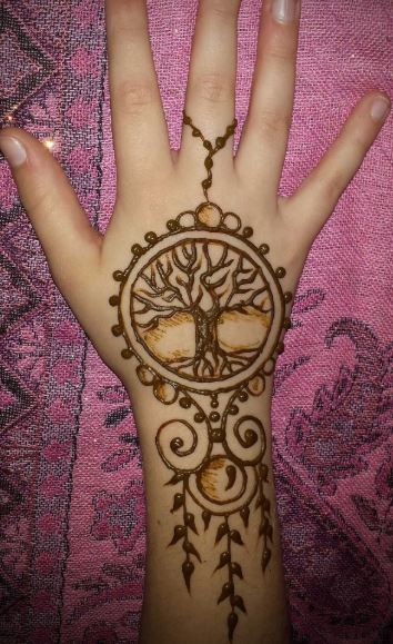 Latest Mehendi Designs Beautiful Trends for Girls (34)