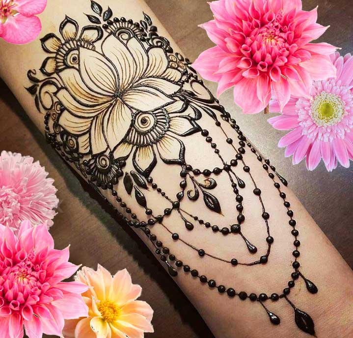 Latest Mehendi Designs Beautiful Trends for Girls (35)